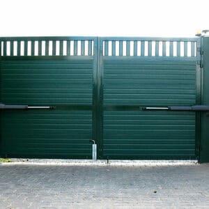 фото распашные ворота
