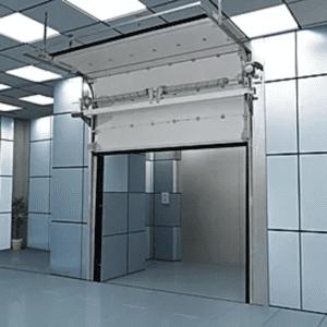 фото секционные ворота