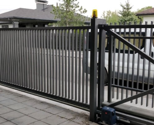 автоматические ворота под заказа