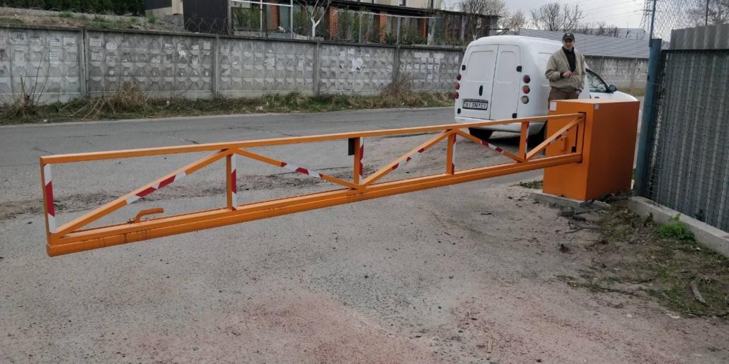 автоматический шлагбаум Киев