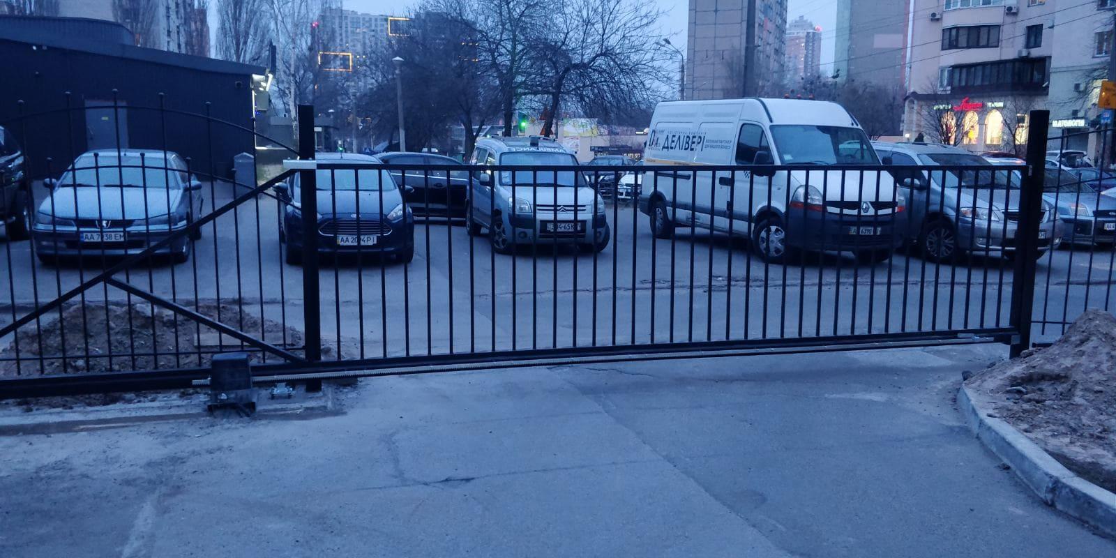 въездные автоматические ворота